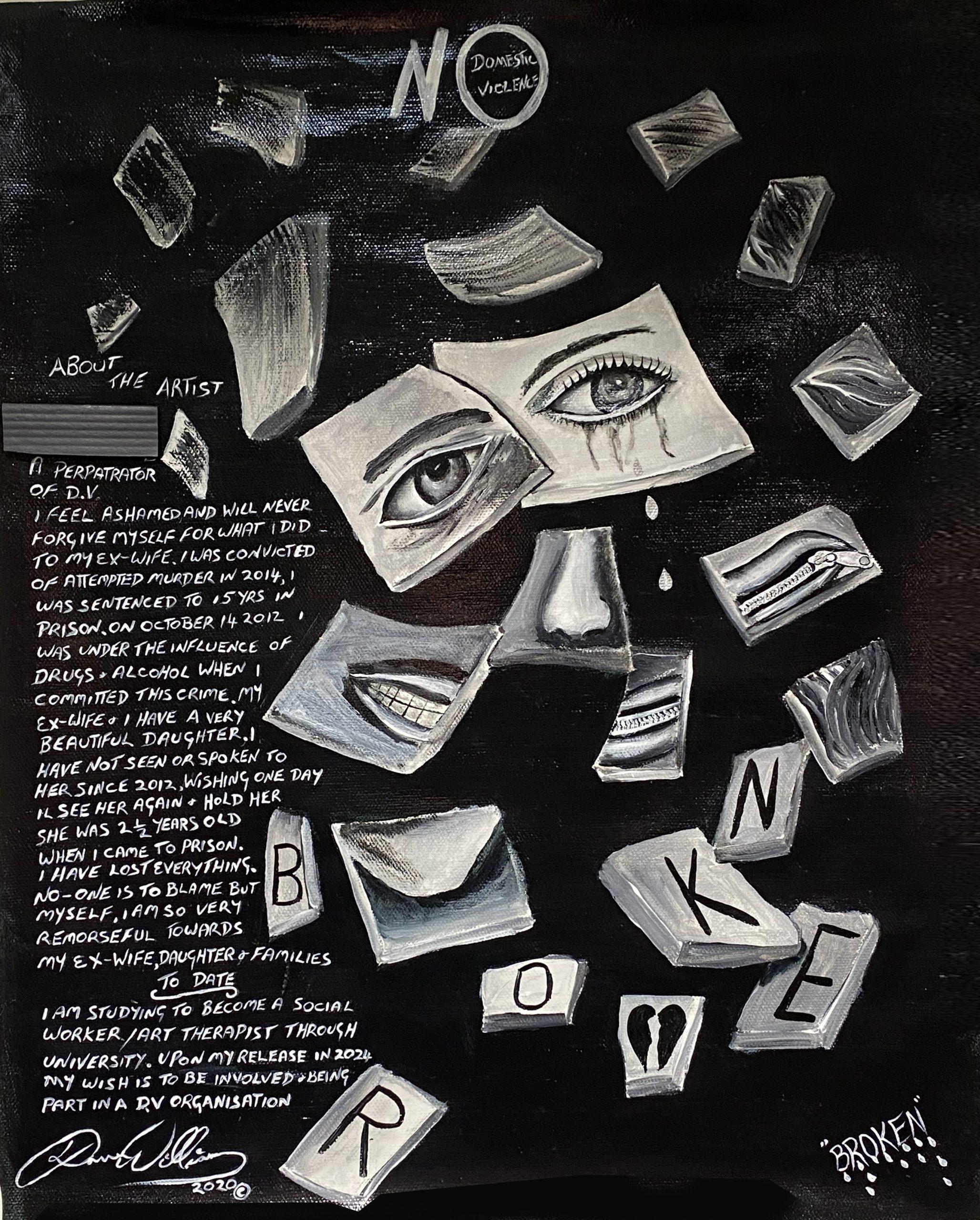 Domestic Violence - Artwork